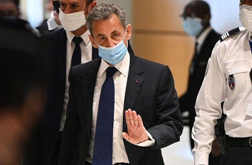 Frankreichs Ex-Präsident Nicolas Sarkozy zu Haftstrafe verurteilt