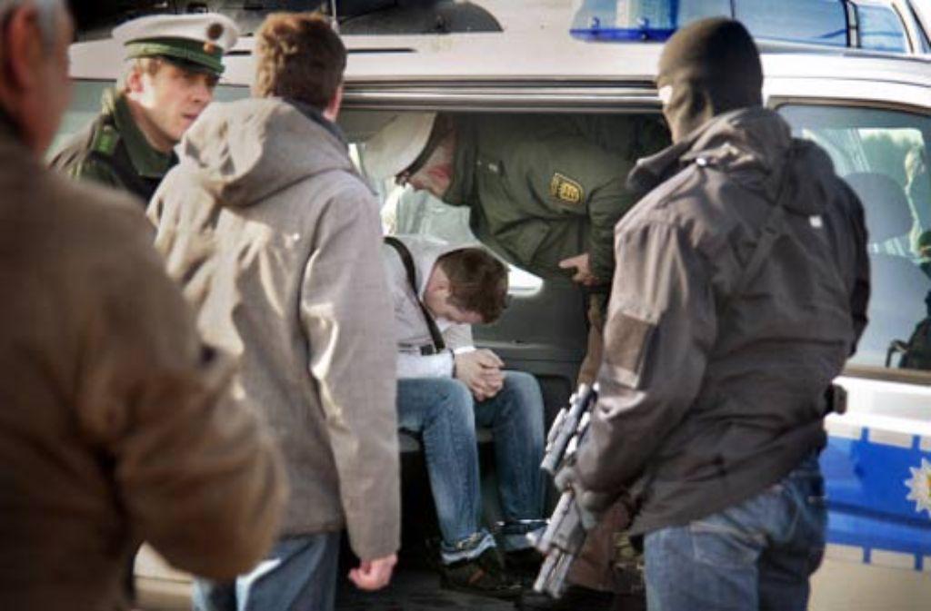 Zwei Monate nach dem Coup sind die ersten Tatverdächtigen gefasst und nach Ludwigsburg gebracht worden. Foto: factum/Archiv