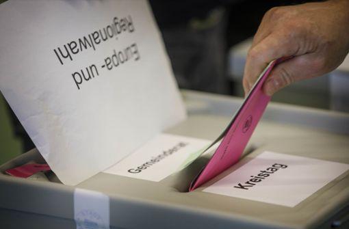 Verluste für CDU und SPD