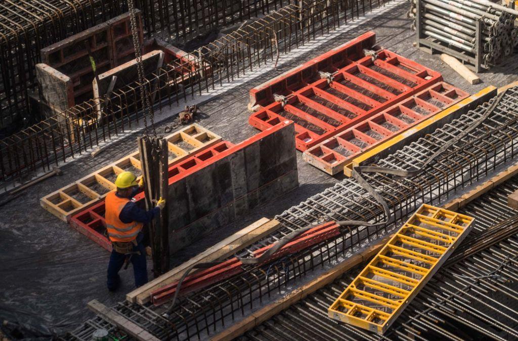 In Stuttgart ist das Bauen besonders teuer. Foto: Lichtgut/Max Kovalenko