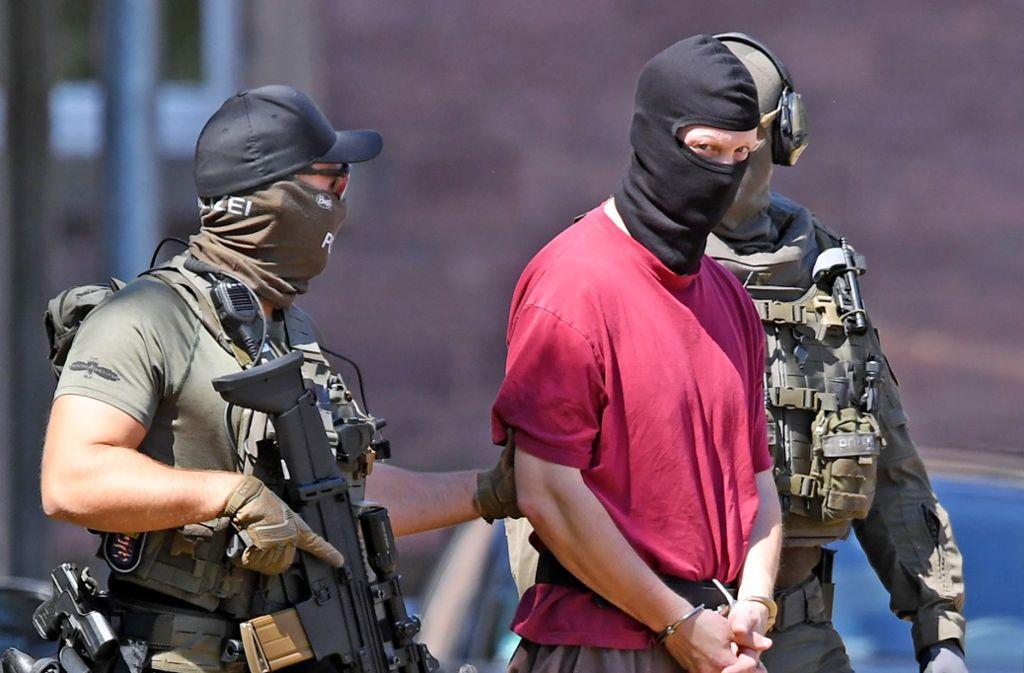 Nicht mehr auf dem Schirm der Sicherheitsbehörden: Stephan E., Beschuldigter im Mordfall Lübcke. Foto: dpa
