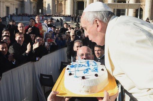 Der Papst als Brückenbauer