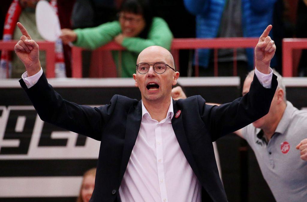 Der neue Dirigent beim TV Rottenburg: Christophe Achten Foto: Baumann