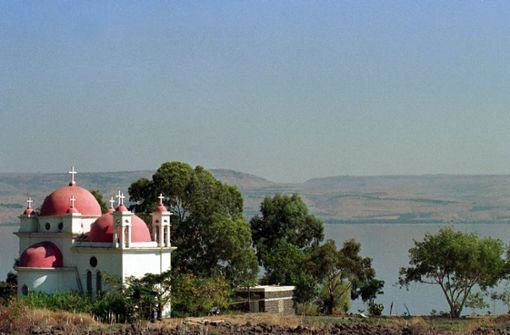 Israel will den See Genezareth retten