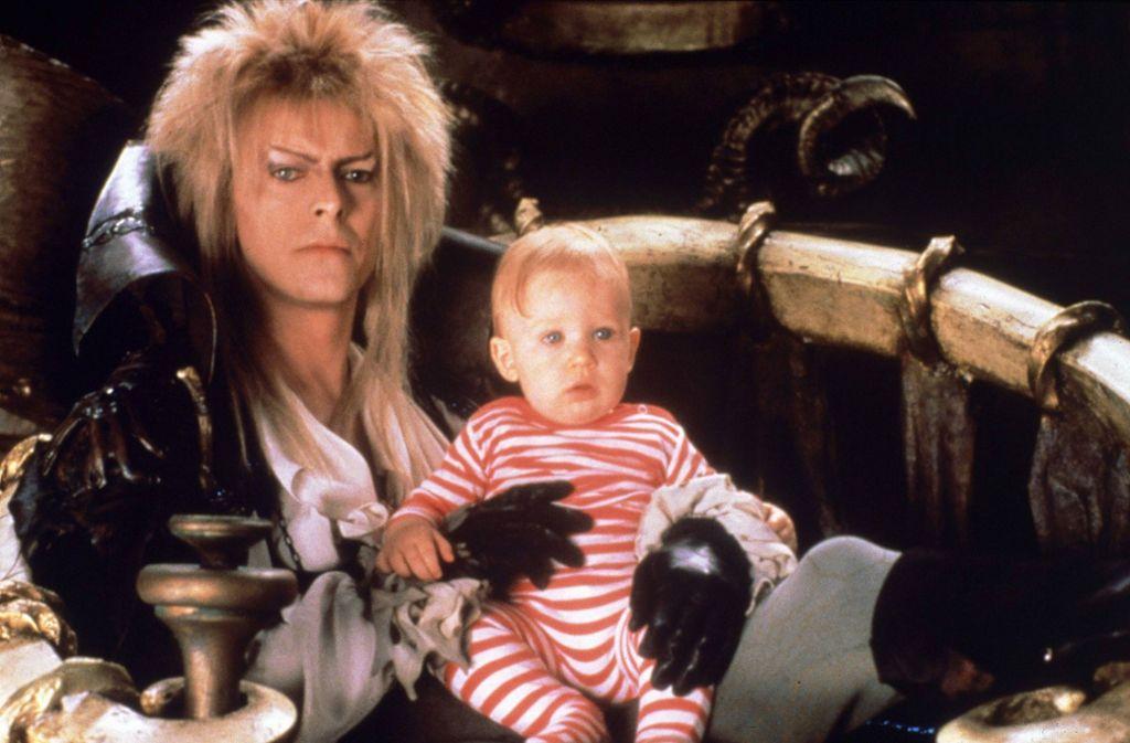 "Kult aus dem Jahr 1986: David Bowie in ""Die Reise ins Labyrinth"" Foto: imago images / United Archives/United Archives / kpa Publicity"