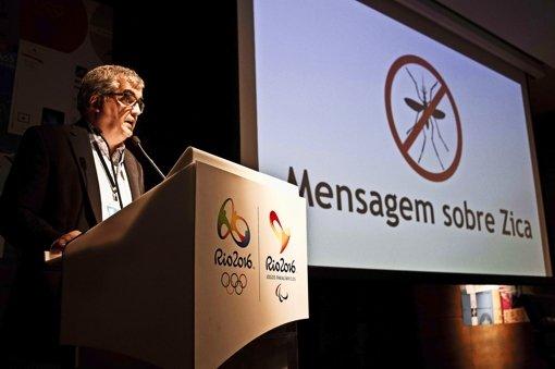 Mario Andrada ist  Kommunikationschef der Spiele in Rio, und er glaubt, dass das Zika-Problem noch vor Olympia im August behoben wird. Foto: