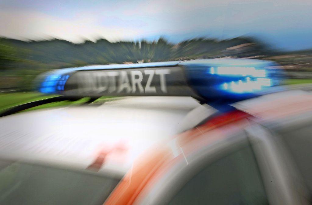 Zu einem schweren Unfall ist es in Winnenden gekommen. Foto: dpa