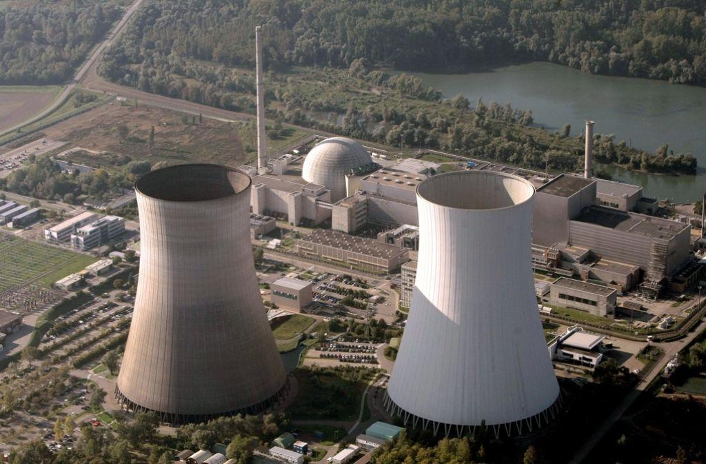 Die Zahl der Fälle von Pfusch bei Prüfungen im Atomkraftwerk Philippsburg ist auf 24 gewachsen, drei Mitarbeiter sollen gepfuscht haben, Foto: dpa