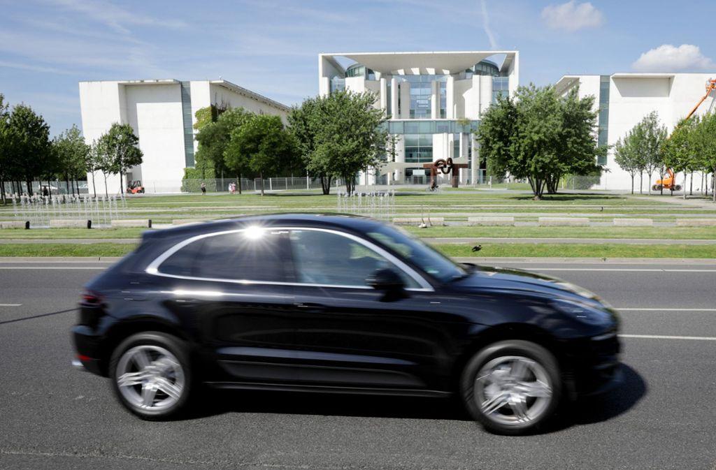 Der Porsche Macan soll ein Software-Update erhalten. Foto: dpa