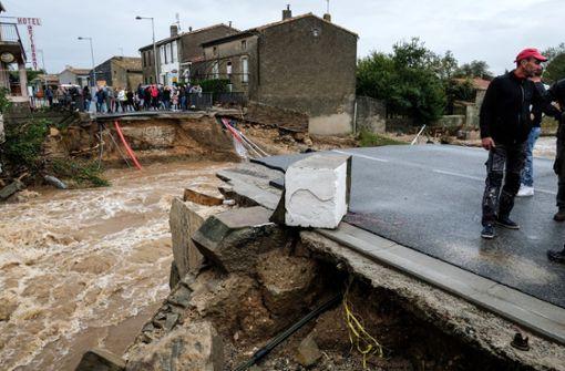 Starkregen und Überschwemmungen: Elf Tote