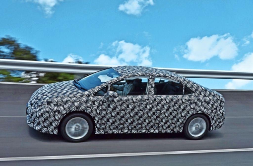 Toyotas Wasserstoffauto soll eine Reichweite von 700 Kilometern haben. Foto: Toyota