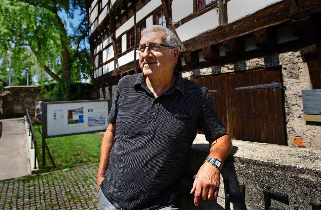Das Museum und die Galerie im Alten Bau werden auch in Zukunft eine Wirkungsstätte von Hartmut Gruber sein. Foto: Ines Rudel