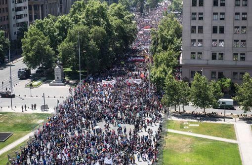 Chile sagt UN-Klimagipfel wegen Protesten ab
