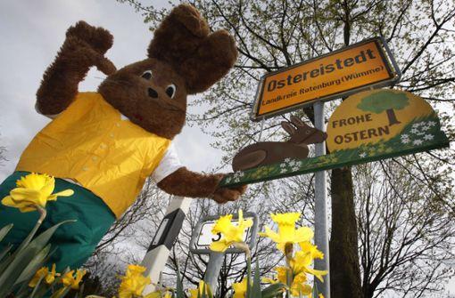 Das Osterhasen-Büro der Deutschen Post hat wieder geöffnet