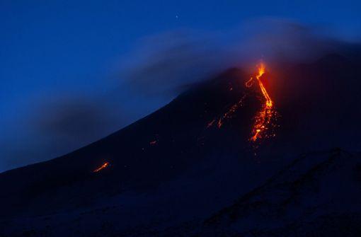 Vulkan Ätna lässt die Erde beben - Verletzte und Gebäudeschäden
