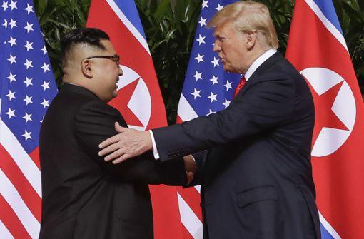 Kim Jong Un laut Donald Trump offenbar am Leben