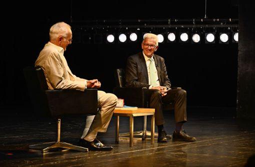 So lief das Gespräch zwischen Harald Schmidt und Winfried Kretschmann