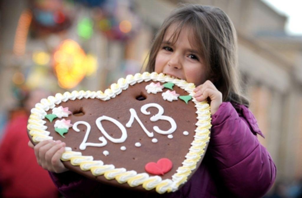 2013 ist zum Anbeißen – doch welche Menschen werden aus 2012 in Erinnerung bleiben, und warum? Foto: dpa