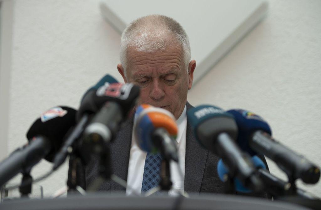 Keine weitere Amtszeit: OB Fritz Kuhn hat alle überrascht. Foto: Lichtgut/Leif Piechowski