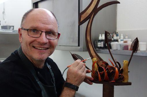 Zartschmelzende Kunstwerke aus Schokolade