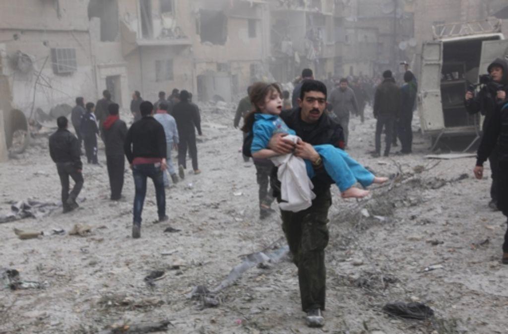Die Massaker in Syrien gehen weiter. Gelingt es den Deutschen nicht, den Druck  zu erhöhen, um sie zu beenden, verwundert es nicht, dass ihnen Foto: dpa