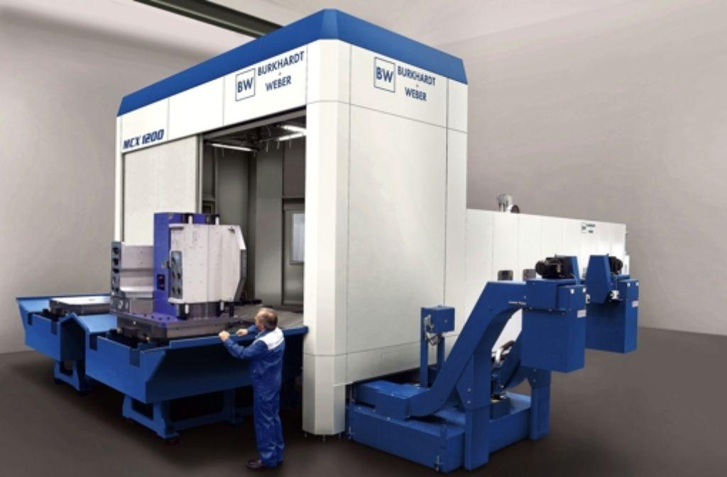 Der  Maschinenbauer Burkhardt+Weber produziert Schwermaschinen Foto: Burkhardt+Weber