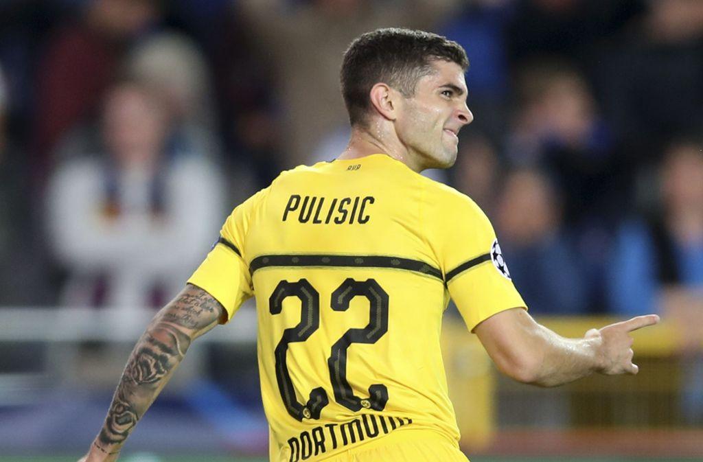 Borussia Dortmunds Christian Pulisic wechselt zum FC Chelsea in die Premier League. Foto: AP