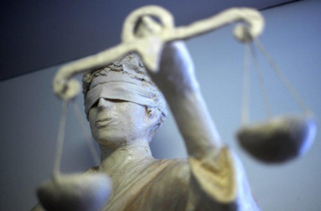 Gerichtsprozess. Foto: dpa