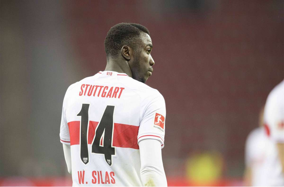 Silas Katompa Mvumpa vom VfB Stuttgart Foto: imago images/Sven/imon