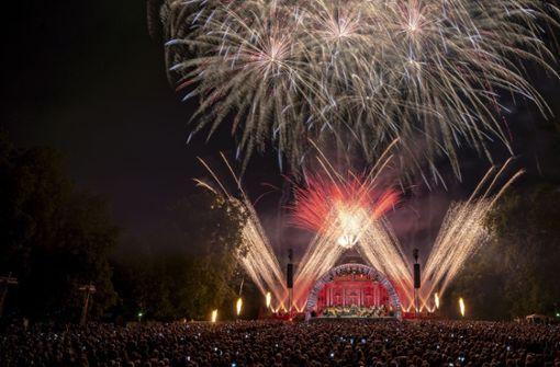 Schloss Monrepos verzaubert mit Musik und Feuerwerk