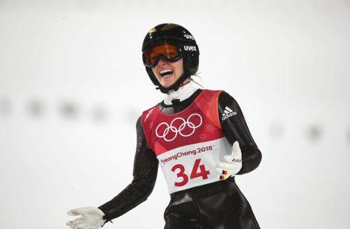 Silber für Skispringerin Katharina Althaus – Carina Vogt auf Platz fünf