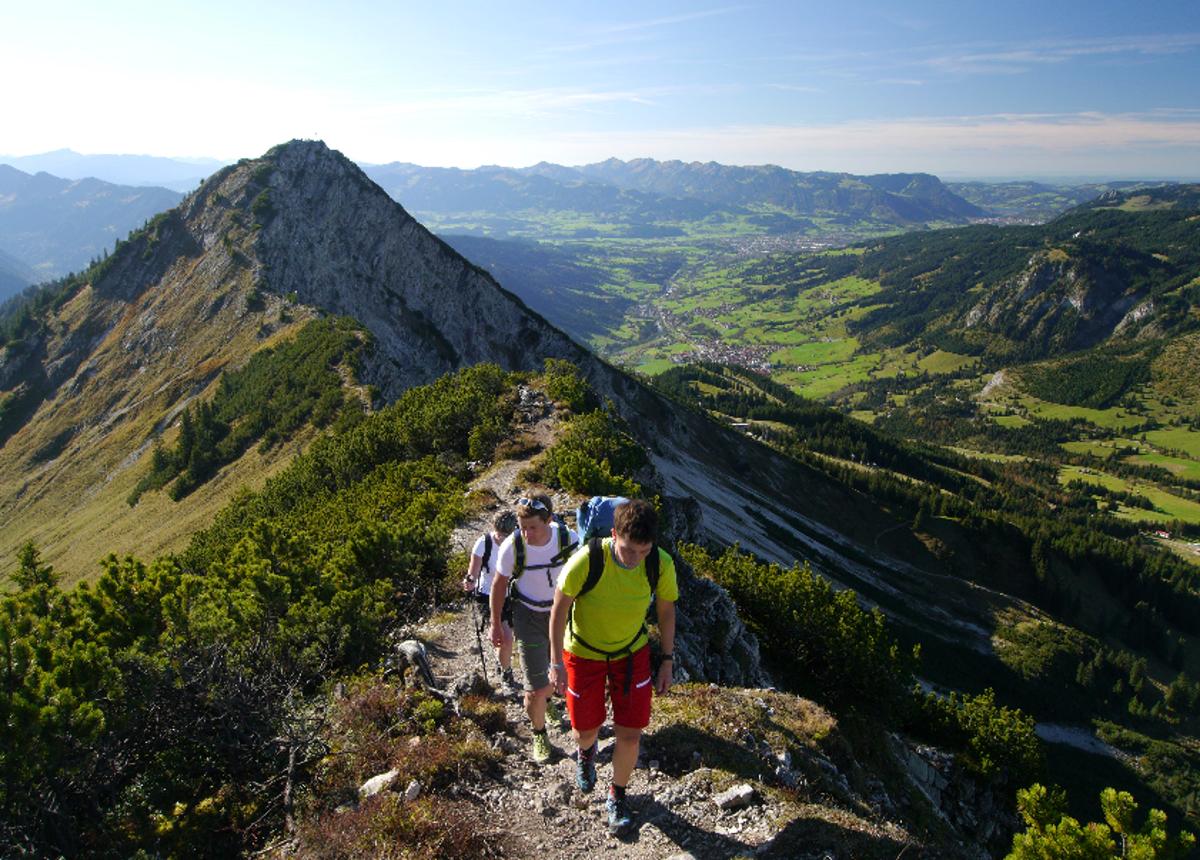 Wandern am Iseler Foto: Bad Hindelang Tourismus / Wolfgang B. Kleiner