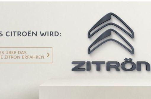 """Citroën benennt sich den Deutschen zuliebe in """"Zitrön"""" um"""