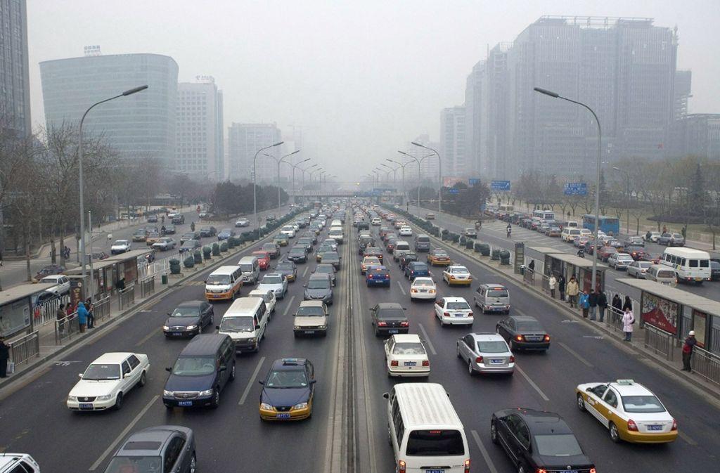 Peking gehört zu den am stärksten von Luftverschmutzung betroffenen Städten der Welt. Foto: dpa