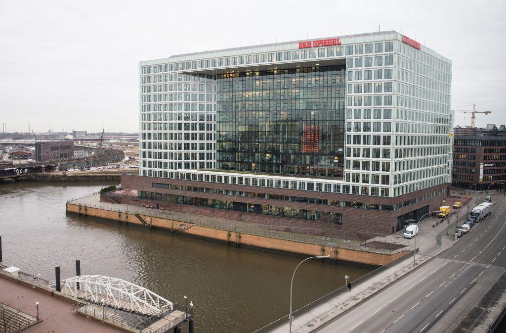 """Das Nachrichtenmagazin """"Der Spiegel"""" wurde vor 70 Jahren gegründet. Foto: dpa"""