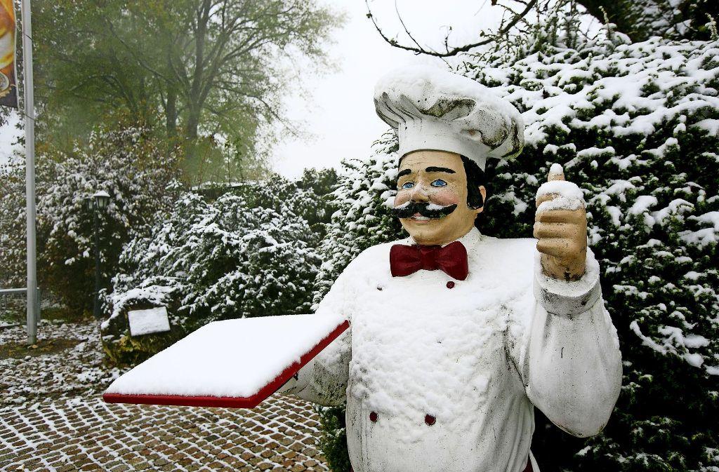Der Koch in Bissingen-Ochsenwang empfiehlt heute eine kalte Platte. Foto: Horst Rudel