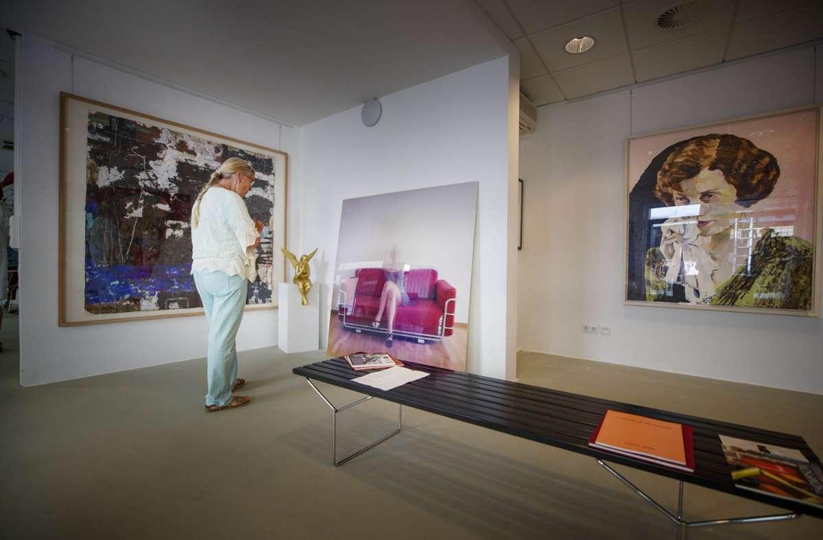 Die Bilder für die Ausstellungen hat  Agi Schilling Foto: /Gottfried Stoppel