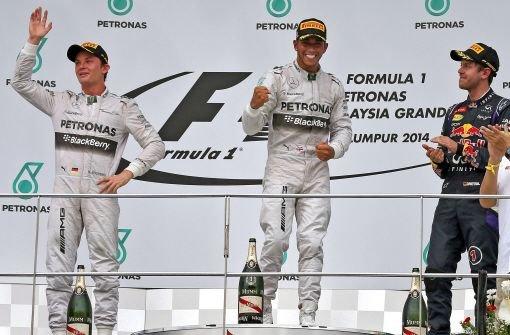 Silberpfeile holen Formel 1-Doppelerfolg
