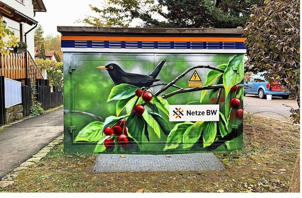 Bald Normalität: künstliche Naturbetrachtung in Gärtringen Foto: Netze BW