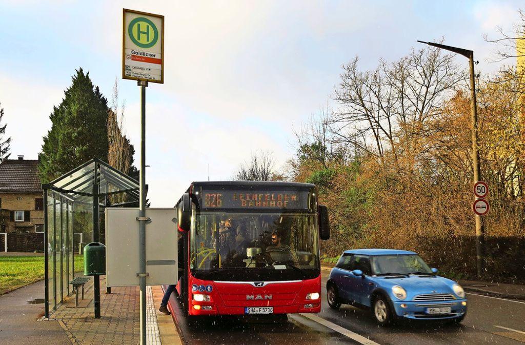 In Bussen der  Linien 760, 826 und  828 kommt es immer wieder zu Zwischenfällen. Foto: Malte Klein