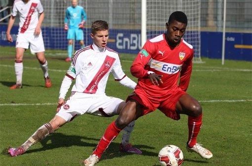 VfB-Junioren siegen trotz Unterzahl