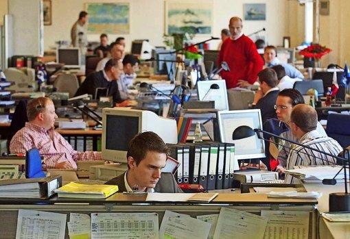 Schreibtischjobs stehen hoch im Kurs