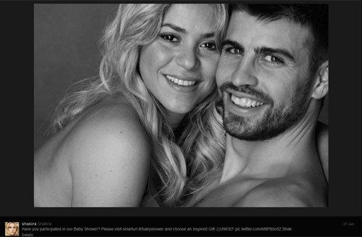 Shakira und Piqué sind Eltern