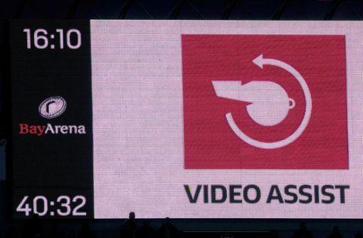Fifa: Videobeweis kommt zum Einsatz
