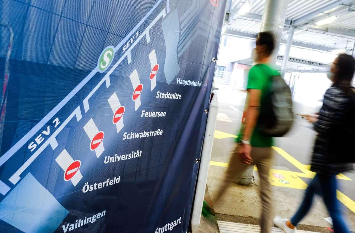 Wochenlang war die Stammstrecke gesperrt. (Archivbild) Foto: Lichtgut/Max Kovalenko