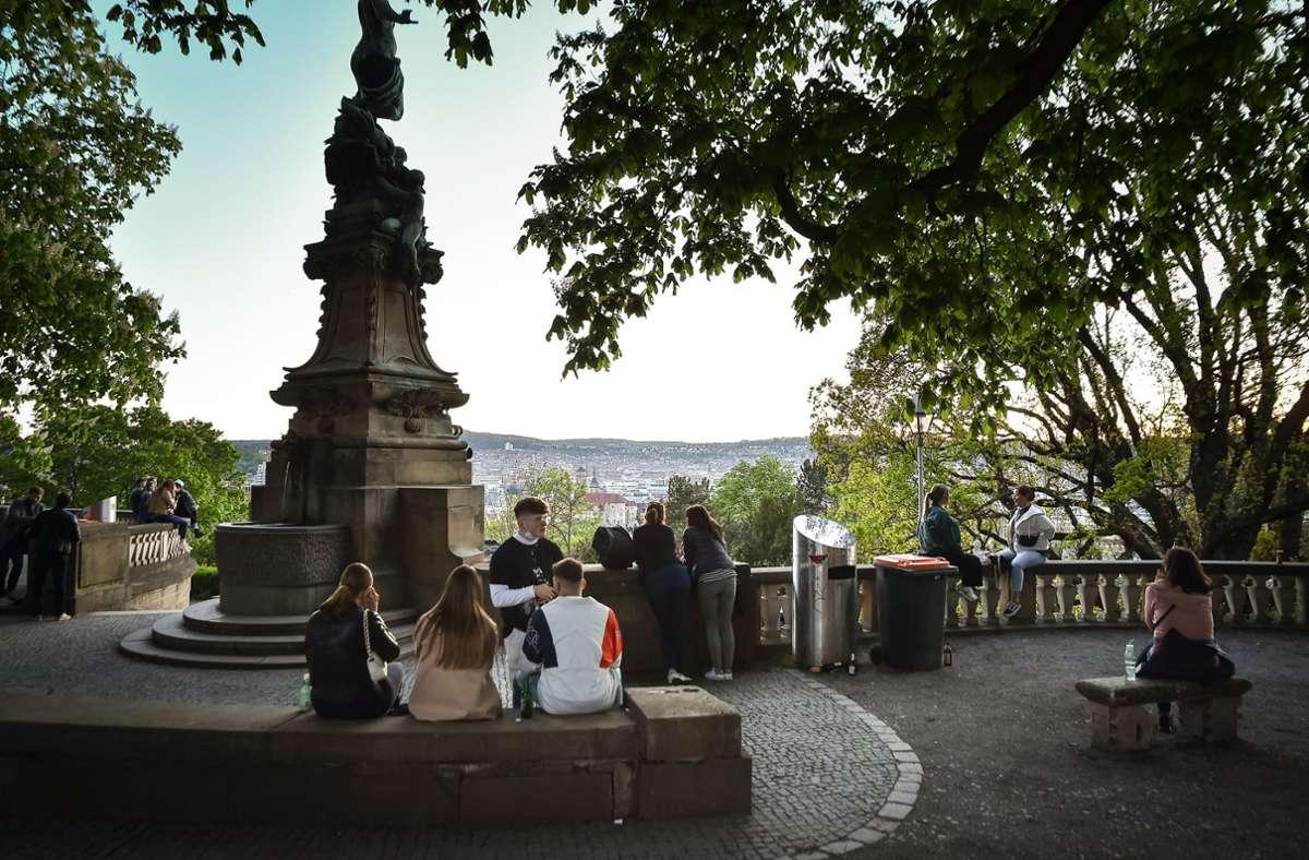Ab 22 Uhr gilt die Sperrstunde. Foto: Lichtgut//Ferdinando Iannone