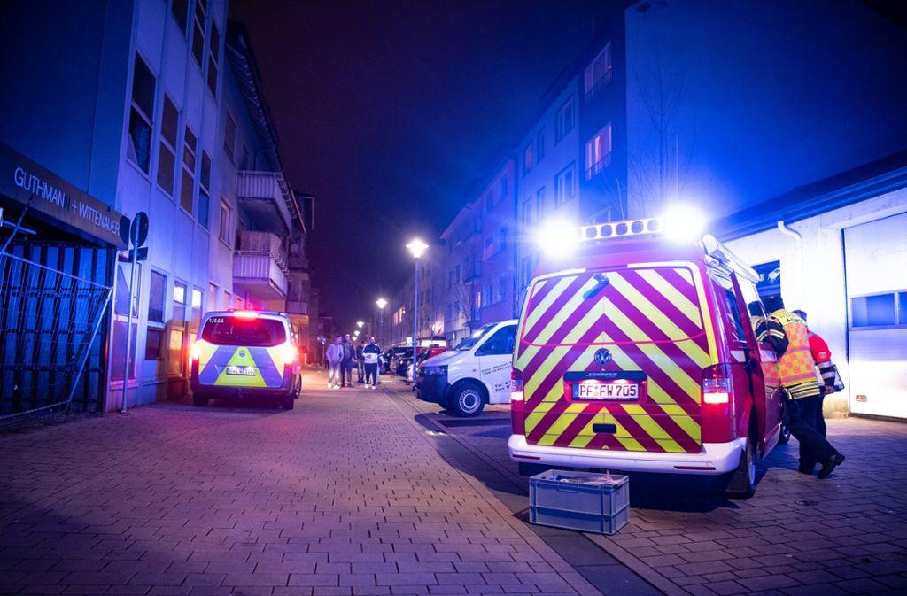 Bei dem Gasaustritt in Pforzheim gab es drei Schwerverletzte. Foto: dpa