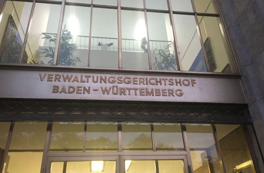 Die Richter in Mannheim haben ihr Urteil zu zwei Klagen gegen den Bahnanschluss des Flughafens gefällt. Foto: Konstantin Schwarz