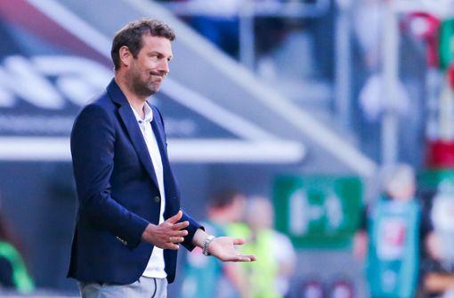 VfB feuert Trainer Markus Weinzierl