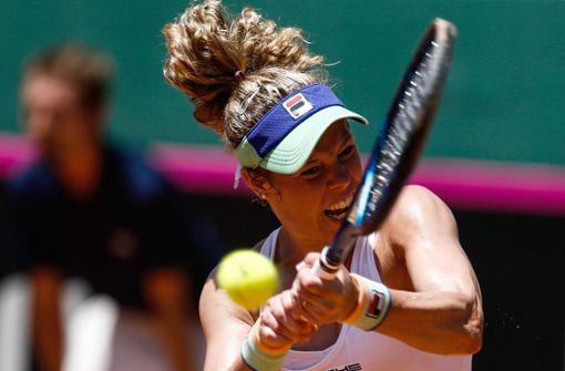 Laura Siegemund scheidet im Tennis-Achtelfinale aus